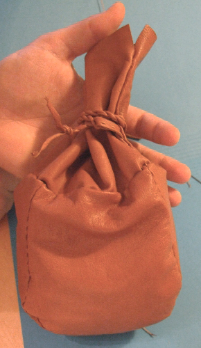 Sew Your Own Reindeer Leather Coffee Bag Kit