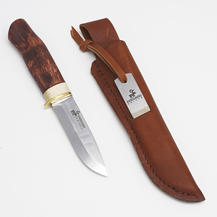 Karesuando Knife - Boar Combi w diamond sharpener