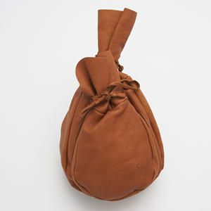 Leather bag for coffee and sugar