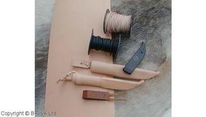 Vegetabile tanned leather Light 2-2,5 mm/ 10 cm