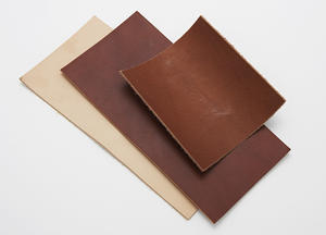 Cow Leather Brown 12 x 25 cm