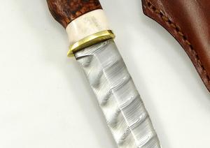 Karesuando Knife - Hunter 10 Damascus twist