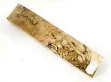 Stabilized spalted birch burl 17, 220*48*25 mm