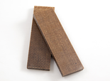 Micarta jute brown 8 mm scale
