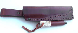 Bushcraft Sheath w Fire steel