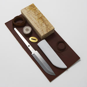 Knife-making kit - 10.5cm Carbon